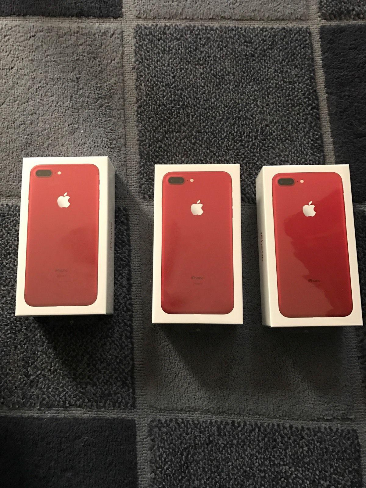 Wholesales Original Apple iPhone 7/7 Plus 128Gb (Product) Red Special Edition -Ship Now