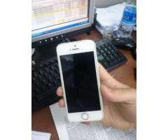 iPhone 5S de 64Gb libre