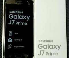 Samsung J7 Prime 4G Lte con sensor de huellas y 3gb ram nuevos en caja!!