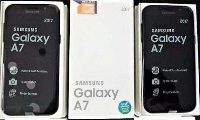 Samsung A7 2017 Sumergible 4G Lte nuevos en caja!!