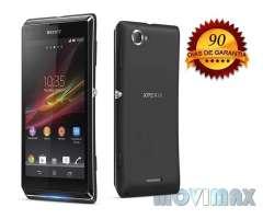 Sony Xperia L Negro Liberado Garantía Envío