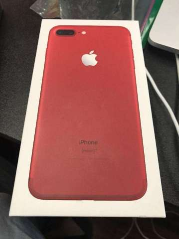 apple iphone 7 rojo nuevo