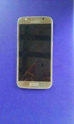 Samsung Galaxy S6 Dorado Usado