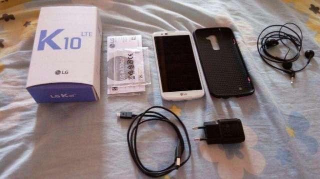 OFERTA!! VENDO HERMOSO SMARTPHONE LG K10 4G LTE MODELO 2016 COMO NUEVO, IMPLECABLE.EN M.R.