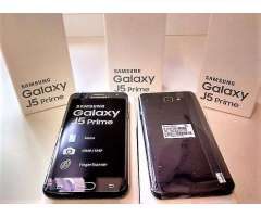 Samsung J5 Prime Lte con lector de huellas libres y nuevos en caja!