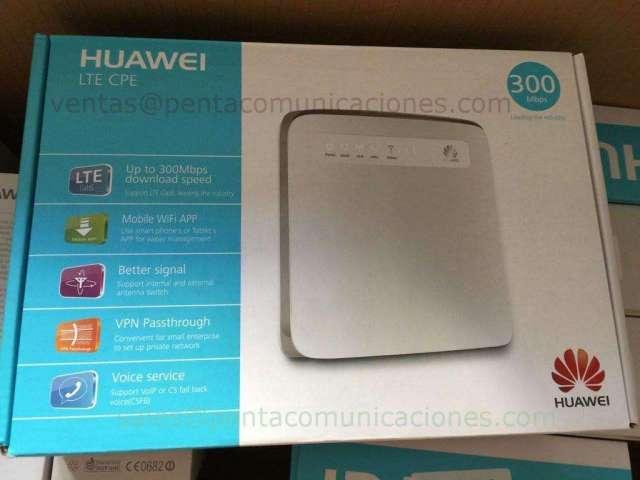 Celulares NUEVO ROUTER INTERNET HUAWEI E5186 Compatible con LTE