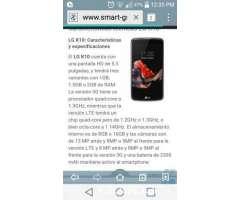 LG k10 como nuevo con accesorios