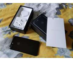 iPhone 7 más 32GB negro azabache