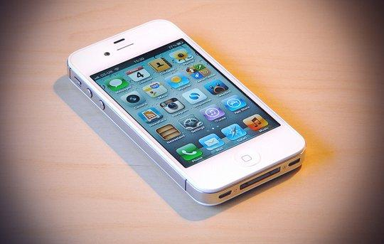 Vendo iPhone 4S de 32Gb, color blanco