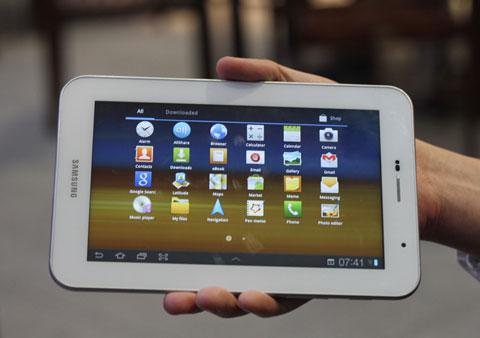 Vendo Samsung Galaxy Tablet 7