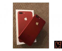 Apple iPhone 7 Plus -256gb -Unlocked Red Smartphone New Sealed Limted Edition
