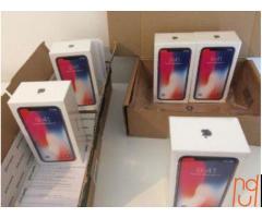 Apple iPhone X  256GB .64GB IN BOX FACTORY SEALED (Unlocked)
