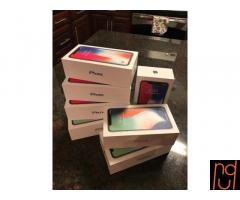 Apple iPhone X 256GB .64GB  Unlocked-Model Apple Warranty - BRAND NEW