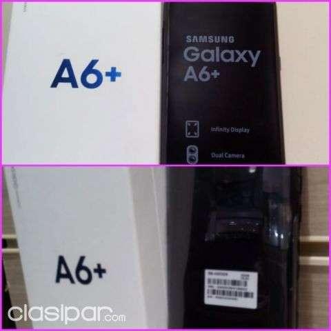Samsung Galaxy A6+ de 64 gb nuevo a cuotas