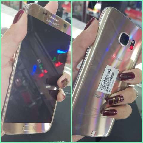 Samsung Galaxy S7 dorado nuevo