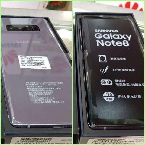 Samsung Galaxy Note 8 de 128 gb nuevo