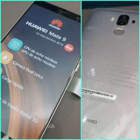 Huawei Mate 9 nuevo más protectores