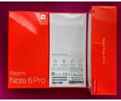 Xiaomi Note 6 Pro de 64 gb nuevos