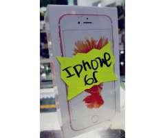 IPhone 6s de 16gb rosa más protectores antishock