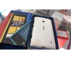 Nokia Lumia 520 nuevo con protectores antishock