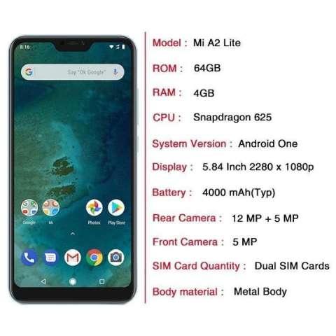 Xiaomi mi a2 lite 64 gb
