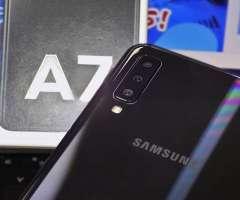 SAMSUNG GALAXY A7 2018 128GB DUAL NEGRO