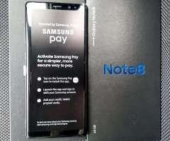 Samsung Note 8 LIBRES y NUEVOS en CAJA!!