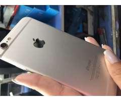 iPhone 6 de 16 gb dorado impecable