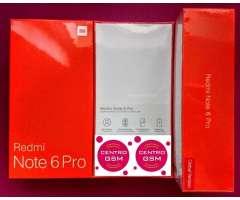 Xiaomi Note 6 Pro Nuevos en Caja Sellada!