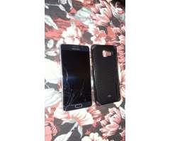 Samsung Galaxy A5 6 fisurado