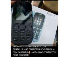 Nokia 105 nuevo en caja y garantáa