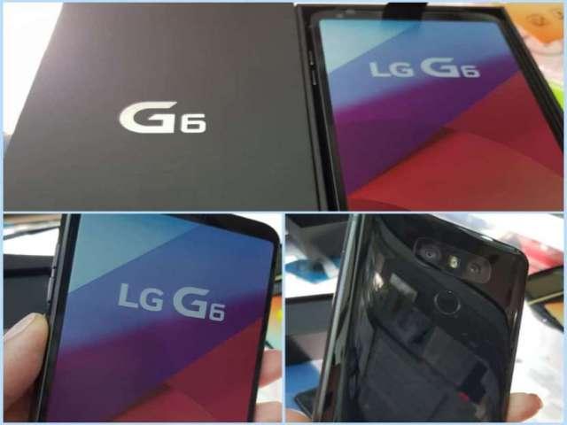 LG G6 nuevo con protectores de regalo