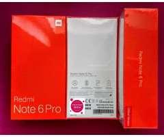Xiaomi Note 6 Pro 64gb Nuevos en Caja Sellada!