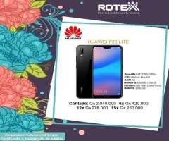 Huawei P20 lite en cuotas
