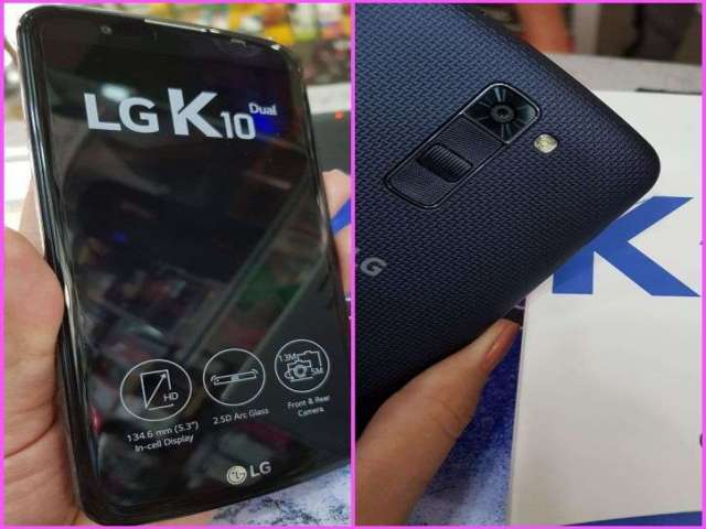 LG k10 dual sim nuevo