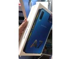 Samsung Galaxy A7 2018 triple camara