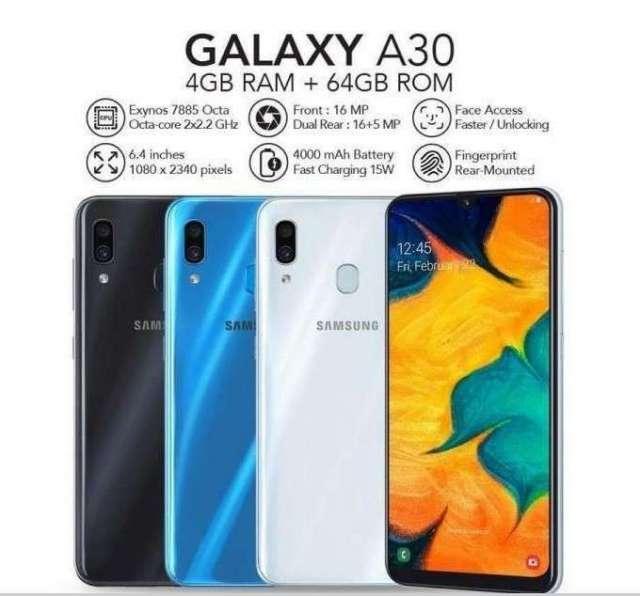 Samsung Galaxy A30 de 128 gb