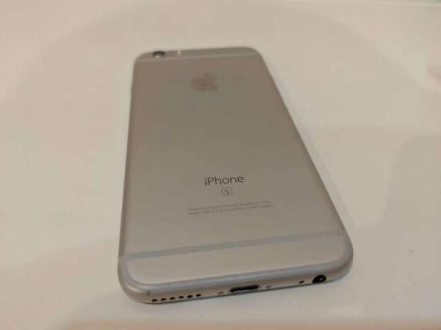 iPhone 6s 16 gb color plata.