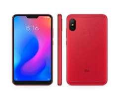 Xiaomi Note 6 Pro rojo de 64 gb