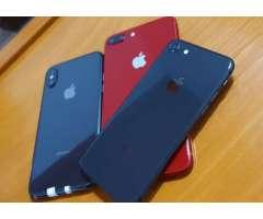 iPhone 8 Plus de 64gb rojo usado en buen estado en luchocell2