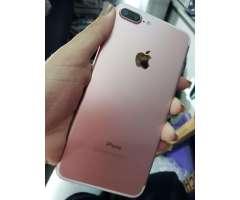 Iphone 7 plus de 128 gb impecable