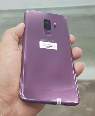 Samsung Galaxy S9 Plus purpura de 64 gb impecable